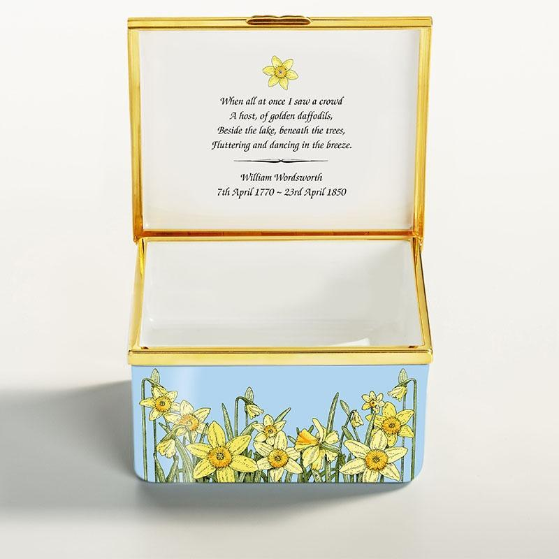 250th Anniversary of the birth of William Wordsworth Enamel Box