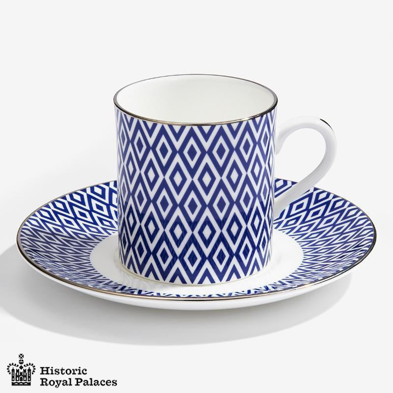Aragon Midnight Coffee Cup & Saucer