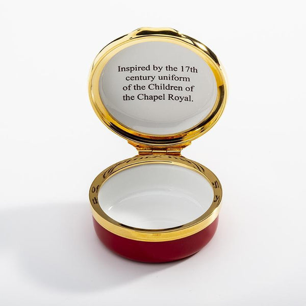 The Chapel Royal Livery Enamel Box