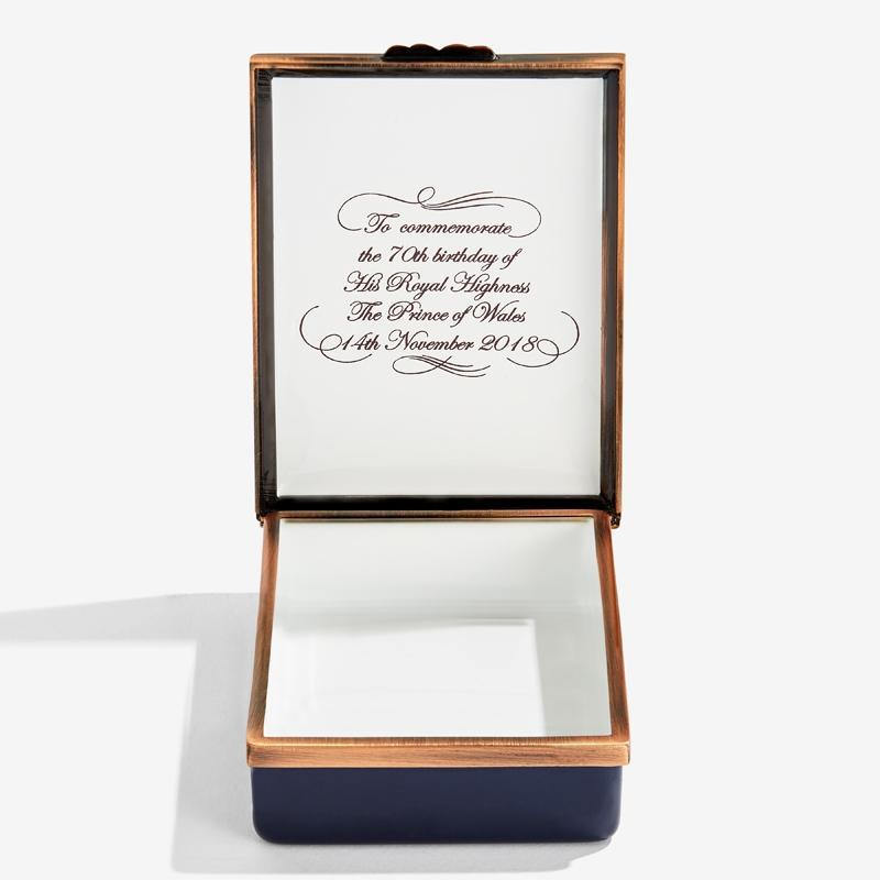 HRH The Prince of Wales by Susan Crawford Prestige Box