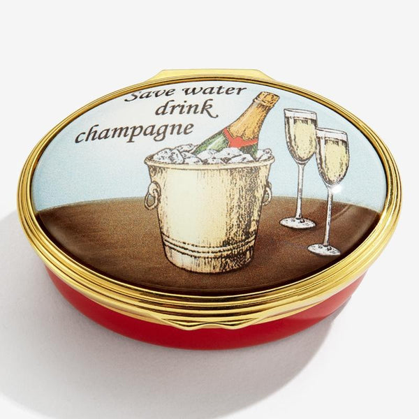 Save Water, Drink Champagne Box