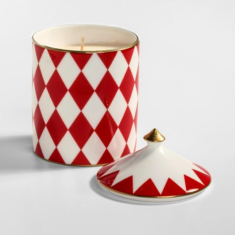 Parterre Red Lidded Candle