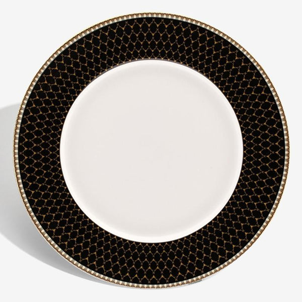 "Antler Trellis 10"" Dinner Plate Black"