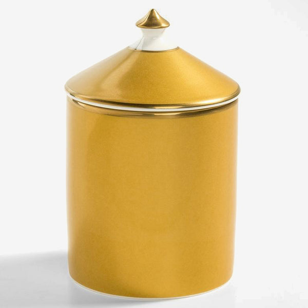 Gold Lidded Candle