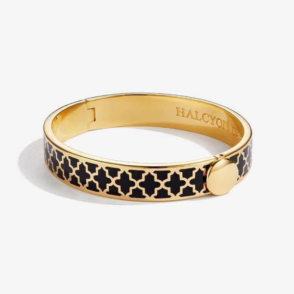 Agama Black & Gold Bangle