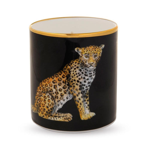 Leopard Jasmine Scented Filled Candle