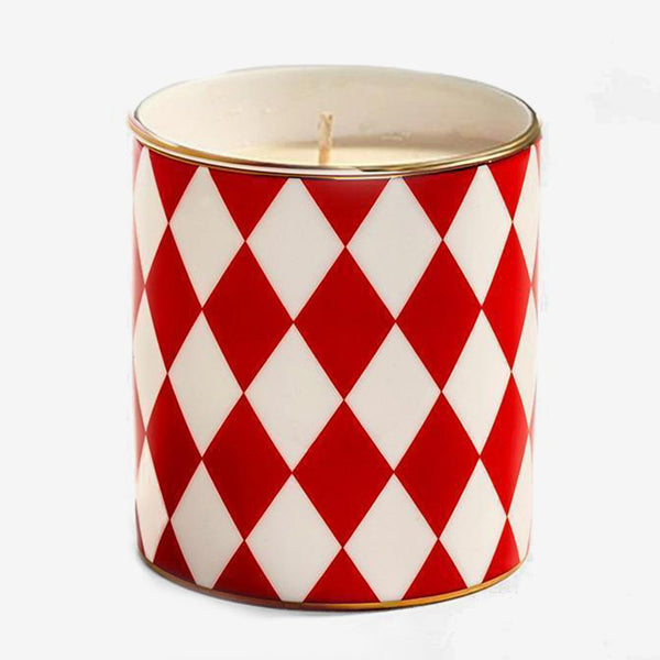 Parterre Red Scented Filled Candle