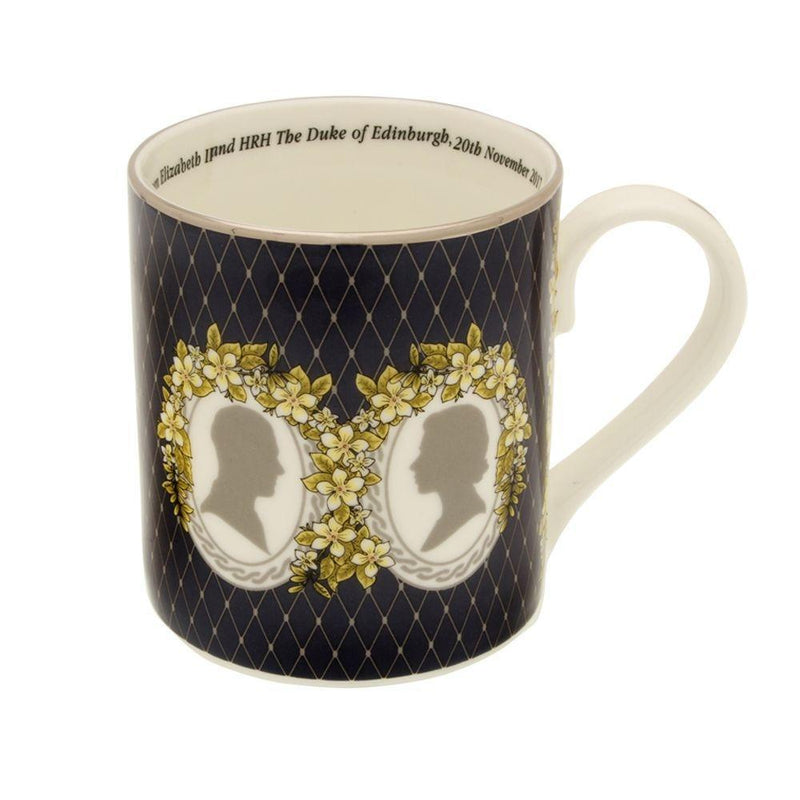 HM The Queen & HRH The Duke of Edinburgh's 70th Wedding Anniversary Mug
