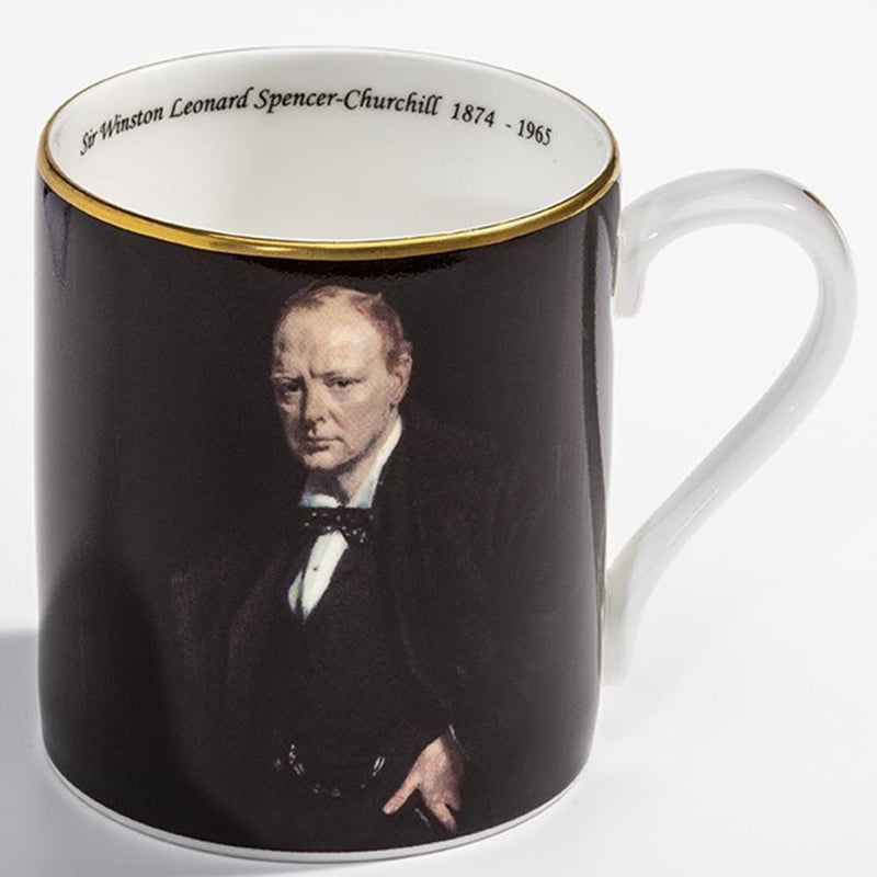 Sir Winston Churchill by William Orpen Mug