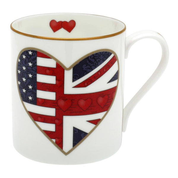 A Very Special Relationship Heart Mug
