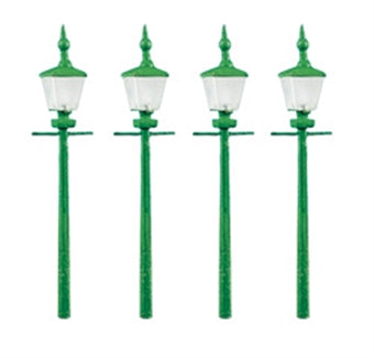 RATIO 213 N GAUGE STATION/STREET LAMPS - (PRICE INCLUDES DELIVERY)