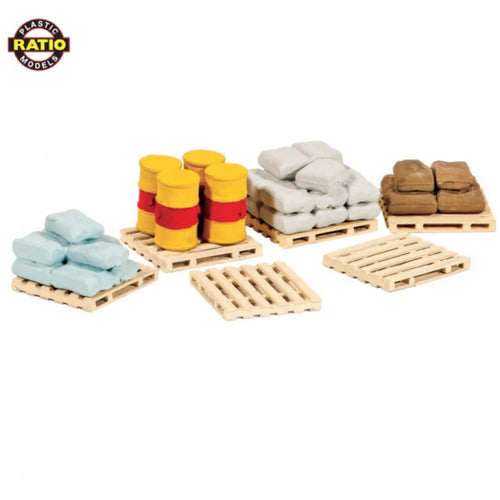 RATIO 221 N GAUGE PALLETS SACKS & BARRELS - (PRICE INCLUDES DELIVERY)