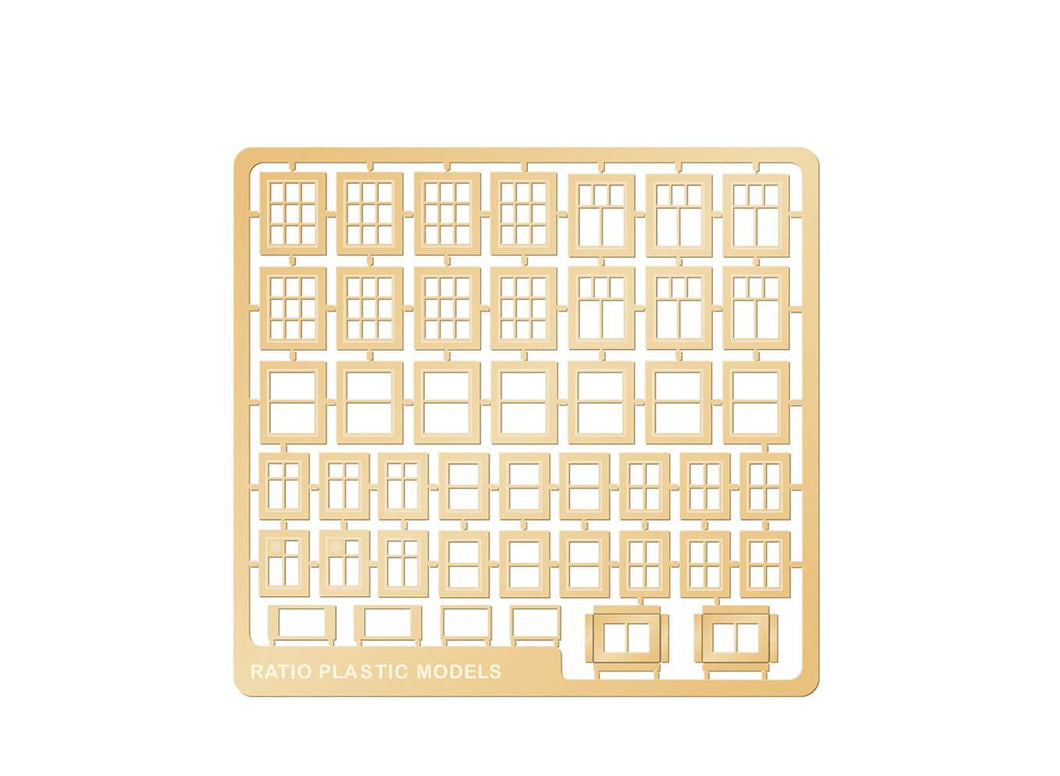 RATIO 310 N GAUGE DOMESTIC WINDOWS - (PRICE INCLUDES DELIVERY)