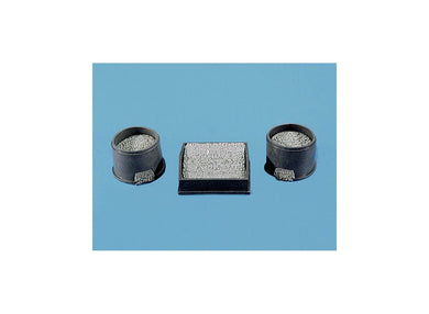 MODEL SCENE ACCESSORIES NO.5002 OO/1:76 LEVEL BALLEST BINS (3) - (PRICE INCLUDES DELIVERY)