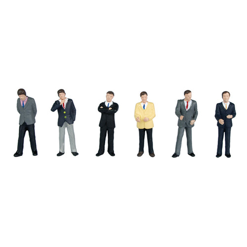 BACHMANN SCENECRAFT 36-040 OO BUSINESSMEN - (PRICE INCLUDES DELIVERY)