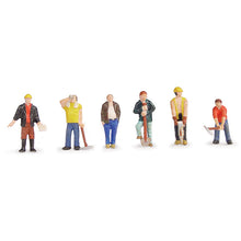 Load image into Gallery viewer, BACHMANN SCENECRAFT 36-042 OO CONSTRUCTION WORKERS - (PRICE INCLUDES DELIVERY)