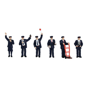 BACHMANN SCENECRAFT 36-043 OO STATION STAFF - (PRICE INCLUDES DELIVERY)