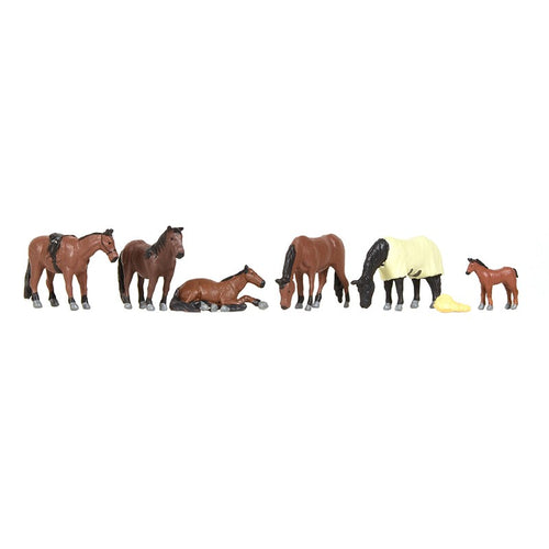 BACHMANN SCENECRAFT 36-080 OO HORSES - (PRICE INCLUDES DELIVERY)