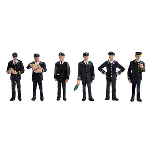 BACHMANN SCENECRAFT 36-405 OO 1960/70 STATIONSTAFF - (PRICE INCLUDES DELIVERY)