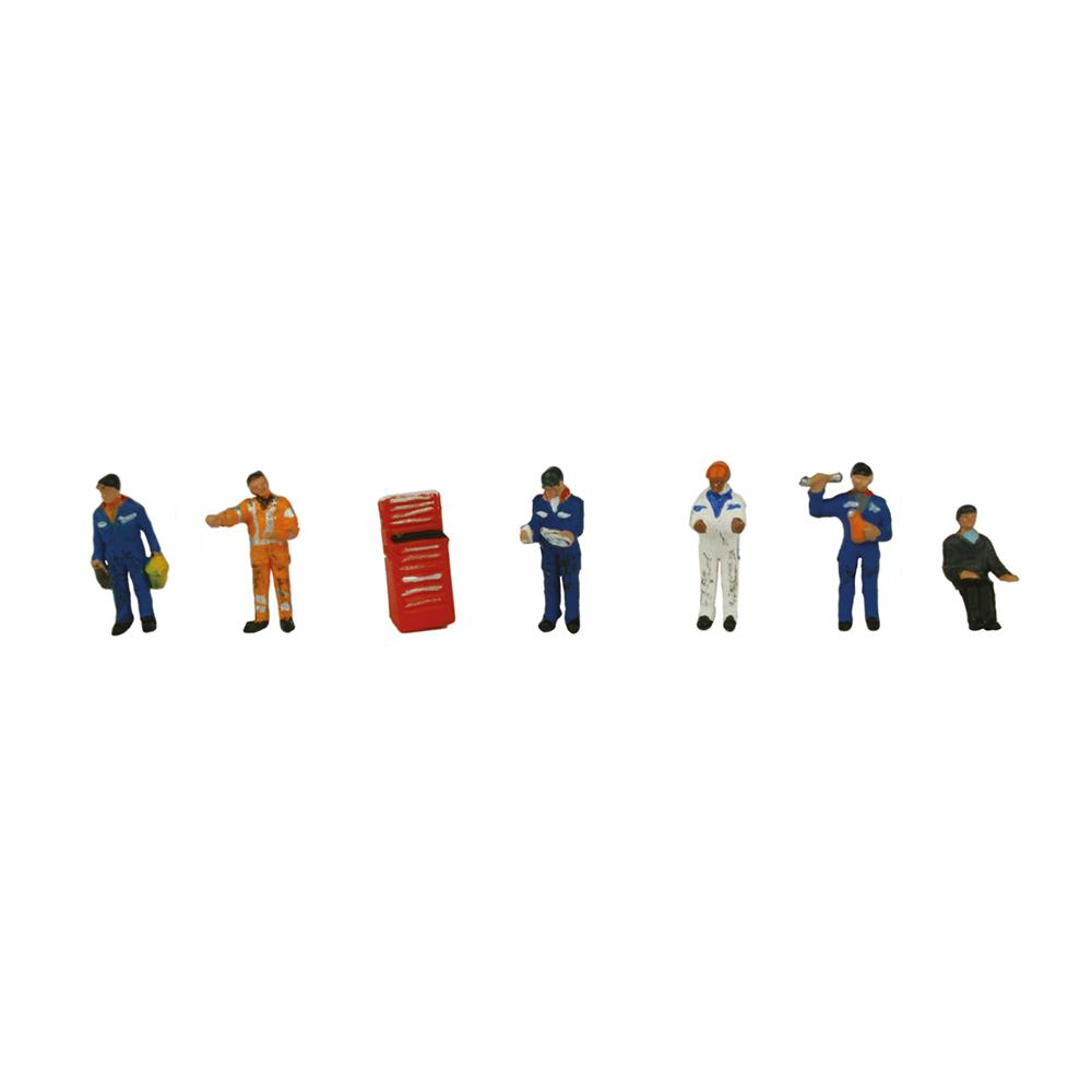 GRAHAM FARISH 379-311 N GAUGE TRACTION MAINTENANCE DEPOT WORKERS - (PRICE INCLUDES DELIVERY)