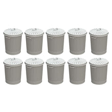 Load image into Gallery viewer, BACHMANN SCENECRAFT 44-522 OO/1.76 OLD STYLE DOMESTIC DUSTBINS - 10) (PRICE INCLUDES DELIVERY)