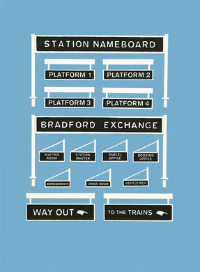 PECO MODEL SCENE 5049 OO/1:76 PLATFORM SIGNAGE - (PRICE INCLUDES DELIVERY)