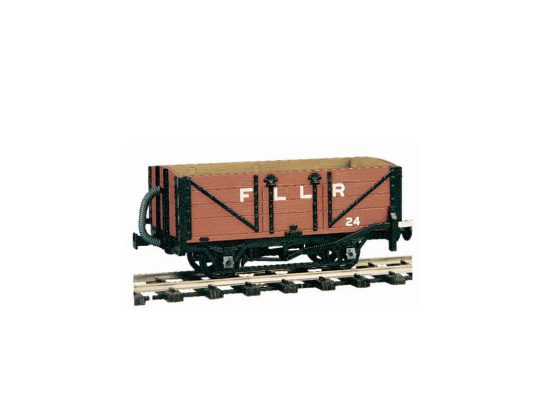 PECO GREAT LITTLE TRAINS OR-24 0-16.5 NARROW GAUGE 4 WHEEL OPEN WAGON KIT - (PRICE INCLUDES DELIVERY)