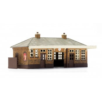 DAPOL C014 OO/1:76 BOOKING HALL - (PRICE INCLUDES DELIVERY)