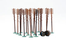 Load image into Gallery viewer, DAPOL C024 OO/1:76 TELEGRAPH POLES (20 IN PACK) - (PRICE INCLUDES DELIVERY)