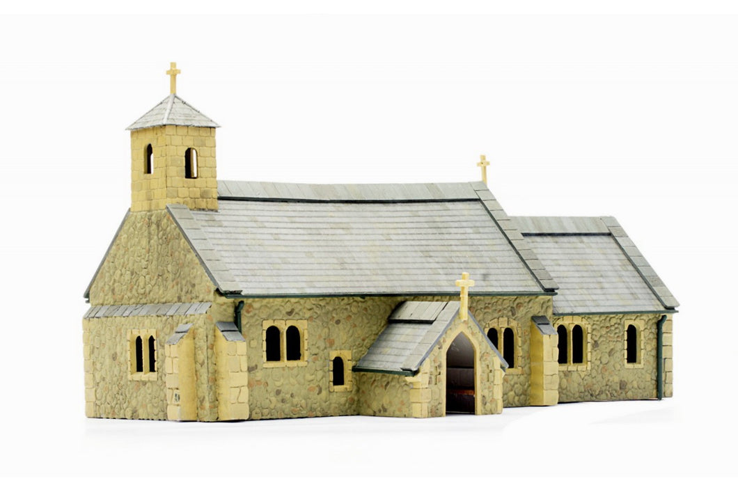 DAPOL C029 OO/1:76 VILLAGE CHURCH - (PRICE INCLUDES DELIVERY)