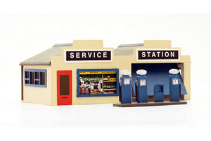 DAPOL C032 OO/1:76 PETROL STATION - (PRICE INCLUDES DELIVERY)
