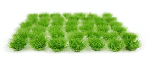 GAUGEMASTER GM 162 6MM GREEN GRASS TUFTS MINI SET - (PRICE INCLUDES DELIVERY)
