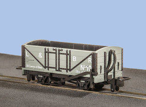 PECO GREAT LITTLE TRAINS GR-200D NARROW GAUGE OPEN WAGON L&B LIVERY - (PRICE INCLUDES DELIVERY)