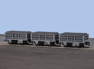 PECO GREAT LITTLE TRAINS GR-320 OO-9 2 TON SLATE WAGONS - (PRICE INCLIDES DELIVERY)