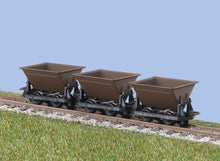 Load image into Gallery viewer, PECO GREAT LITTLE TRAINS GR-330 OO-9 HUDSON RUGGA V-SKIPS BROWN - (PRICE INCLUDES DELIVERY)