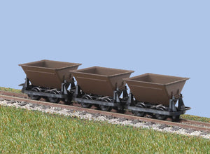 PECO GREAT LITTLE TRAINS GR-330 OO-9 HUDSON RUGGA V-SKIPS BROWN - (PRICE INCLUDES DELIVERY)
