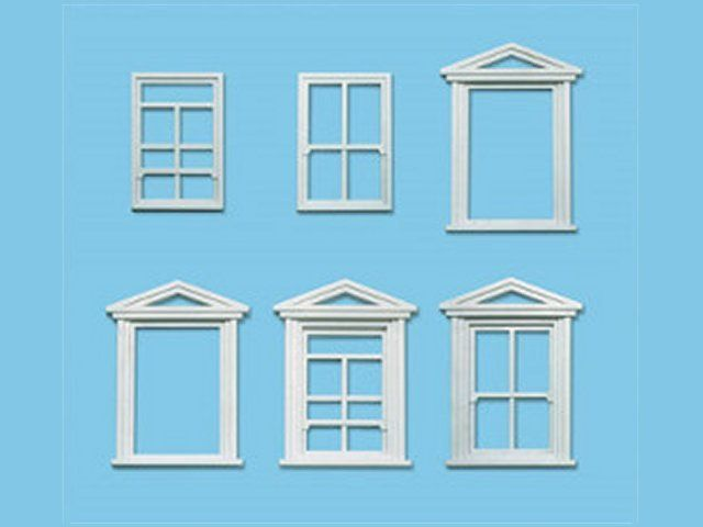 PECO LK-756  O/1:48 8 WINDOWS & FRAMES - (PRICE INCLUDES DELIVERY)