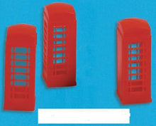 Load image into Gallery viewer, MODEL SCENE ACCESSORIES NO.5190 N GAUGE TELEPHONE BOXES (3) - (PRICE INCLUDES DELIVERY)
