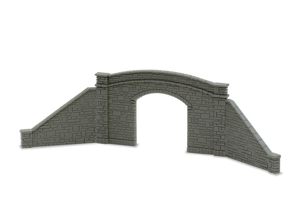 PECO LINESIDE NB-33 N GAUGE SINGLE TRACK BRIDGE SIDES & RETAINING WALLS - (PRICE INCLUDES DELIVERY)