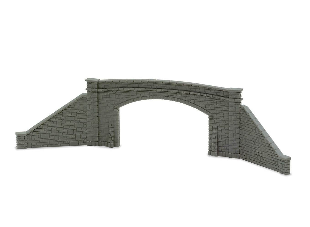 PECO LINESIDE NB-34 N GAUGE DOUBLE TRACK BRIDGE SIDES & RETAINING WALLS - (PRICE INCLUDES DELIVERY)