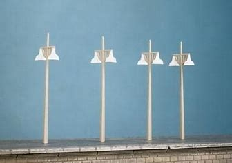 RATIO 454 OO/1:76 CONCRETE LAMPS - (PRICE INCLUDES DELIVERY)