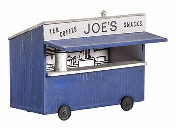 WILLS SS14 OO/1:76 TEA KIOSK - (PRICE INCLUDES DELIVERY)
