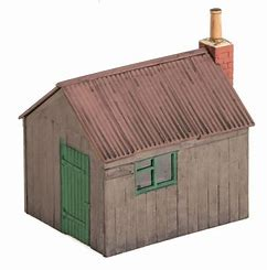 WILLS SS50 OO/1:76 PLATELAYERS HUT - (PRICE INCLUDES DELIVERY)