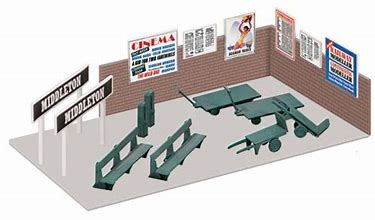 WILLS SS68 OO/1:76 PLATFORM ACCESORIES - (PRICE INCLUDES DELIVERY)