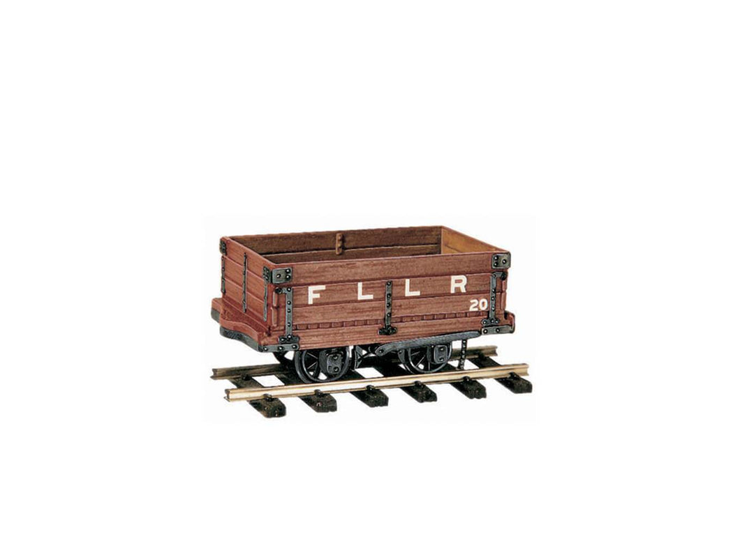PECO GREAT LITTLE TRAINS OR-20 OO-9 4 TON MINERAL WAGON KIT - (PRICE INCLUDES DELIVERY)