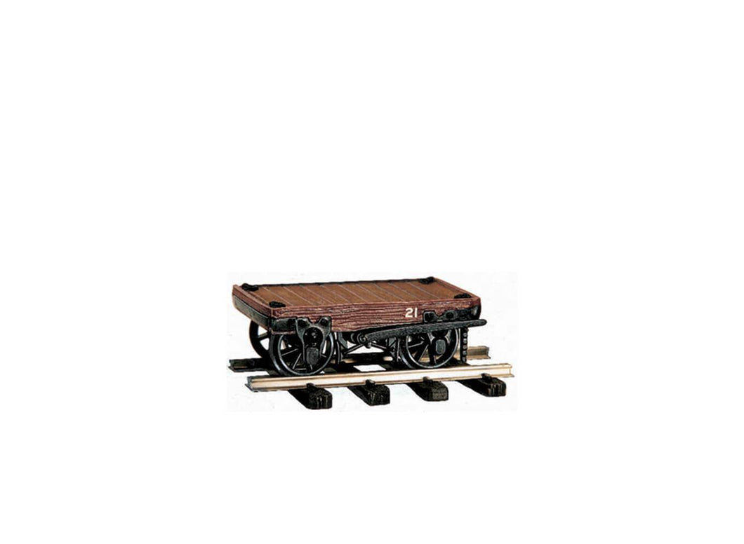 PECO GREAT LITTLE TRAINS OR-21 OO-9 2 TON FLAT WAGON KIT - (PRICE INCLUDES DELIVERY)