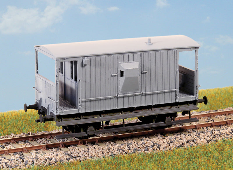 PARKSIDE MODELS PC89 OO/1:76 20 TON GOODS BRAKE VAN - (PRICE INCLUDES DELIVERY)
