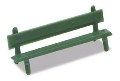 MODEL SCENE ACCESSORIES NO.5180 N GAUGE PLATFORM SEATS (12) - (PRICE INCLUDES DELIVERY)