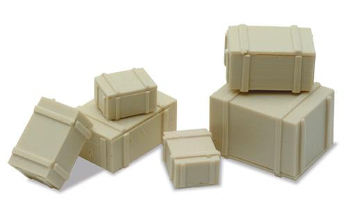 PECO LK-24 OO/1:76 PACKING CASES - (PRICE INCLUDES DELIVERY)
