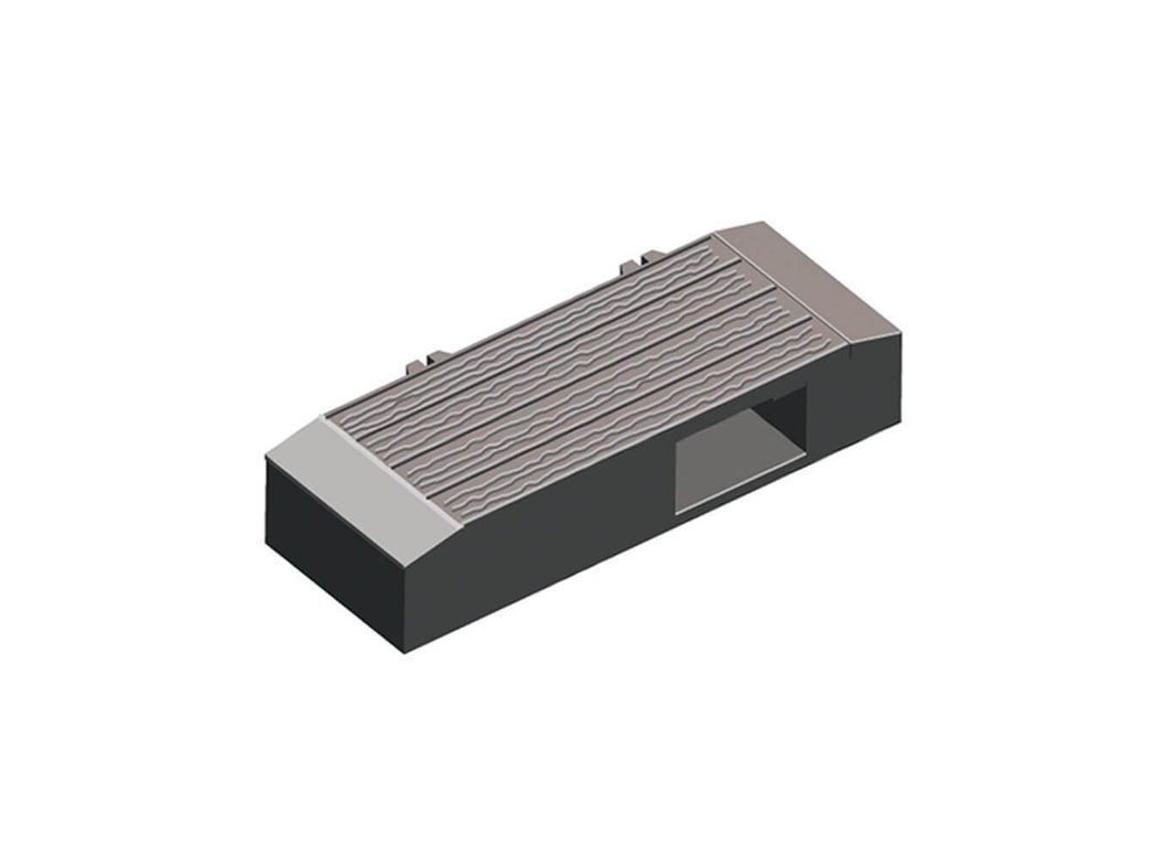 PECO LECTRICS PL-19 O GAUGE MICROSWITCH HOUSING - (PRICE INCLUDES DELIVERY)